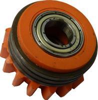 Подающий ролик 1,2/1,2 с насечкой, с шариковым подшипником, оранжевый, Kemppi, 3137380