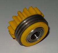 Подающий ролик, 1.6/1.6 (L) с шариковым подшипником, жёлтый, Kemppi, 3141120