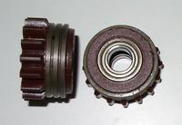 Подающий ролик, 1,4 / 1,4, U, трапецеидальный, коричневый, Kemppi, 3142220