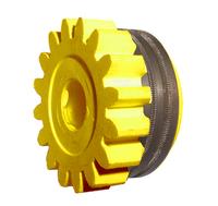 Подающий ролик 1,4-1,6/2,0, желтый, с насечкой, Kemppi, 3133990