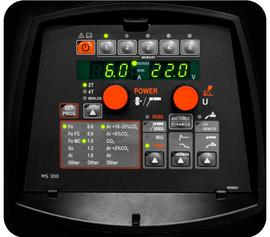 Панель управления синергетическая FASTMIG MS 300, KEMPPI, 6136400