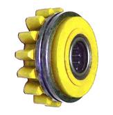 Подающий ролик прижимной 1,6, желтый, Kemppi, W001072