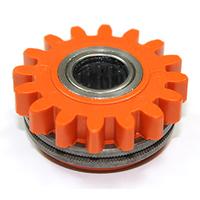 Подающий ролик прижимной, с насечкой 1,2/2KFM2/4, оранжевый, Kemppi, W001060